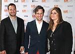 Robert Pulcini, Christopher Fitzgerald & Shari Springer Berman attending the The 2012 Toronto International Film Festival.Red Carpet Arrivals for 'IMOGENE' at the Ryerson Theatre in Toronto on 9/7/2012