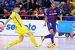 League LNFS 2017/2018 - Game 15.<br /> FC Barcelona Lassa vs Gran Canaria FS: 9-2.<br /> Michael Lopez vs Leo Santana.