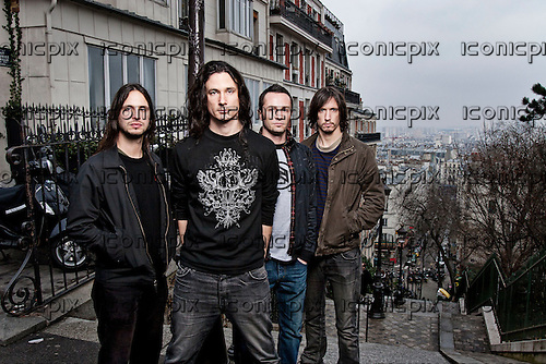 GOJIRA - photosession in Paris France - Feb 15, 2009.  Photo: © Ashley Maile/IconicPix  *HIGHER RATES APPLY* *NO WEBSITES* *NO SUBSCRIPTIONS*