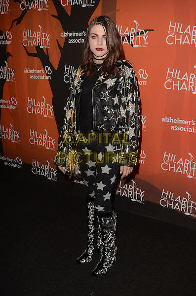 LOS ANGELES, CA - OCTOBER 15: Frances Bean Cobain at Hilarity for Charity's 5th Annual Los Angeles Variety Show: Seth Rogen's Halloween at Hollywood Palladium on October 15, 2016 in Los Angeles, California. Credit: David Edwards/MediaPunch<br /> CAP/MPI/DE<br /> &copy;DE/MPI/Capital Pictures