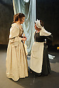 London, UK. 27.01.2016. Ensemble and Theatre ROyal York present THE RESTORATION OF NELL GWYNN, by Steve Trafford, directed by Damian Cruden, at the Park Theatre. Elizabeth Mansfield plays Nell Gwyn and Angela Curran, Nell's maid, Margery. Photograph © Jane Hobson.