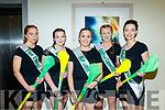 Kerry Senior Comogie players who took part in 'Stars in their Eyes' concert last Saturday night in the Ballyroe heights hotel, Tralee were L-R Patrice Diggin, Treise Moran, Sara Murphy, Laura Collins&Olivia Dineen.