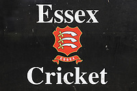 Essex Cricket signage during Essex CCC vs Durham MCCU, English MCC University Match Cricket at The Cloudfm County Ground on 3rd April 2017