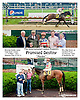 Promised Destiny with Mrs. Blair Wyatt,  up winning The International Ladies Fegentri Race at Delaware Park on 6/10/13