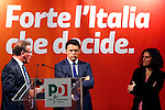 Democratic Party (PD) meeting with Italian Prime Minister, Matteo Renzi, in Trento on May 5, 2015.