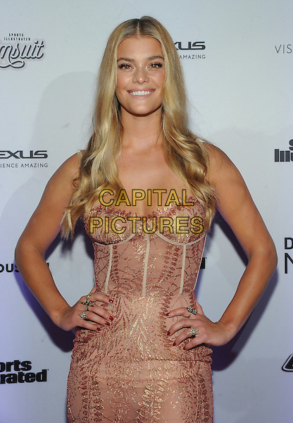 NEW YORK, NY - FEBRUARY 16:  Nina Agdal attends the Sports Illustrated Swimsuit 2017 launch event at Center415 Event Space on February 16, 2017 in New York City. <br /> CAP/MPI/JP<br /> &copy;JP/MPI/Capital Pictures