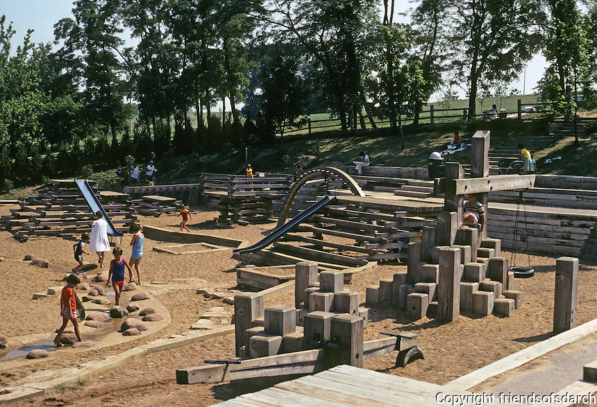 St. Louis: Edgar M. Queeny Playcenter, Queeny Park. Photo '78.