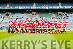 Derry Team in the All Ireland Minor Quarter Final at Croke Park on Sunday.
