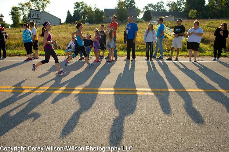 Bellin Women's Half Marathon in Green Bay, Wis., on September 26, 2015. Photo by Corey Wilson