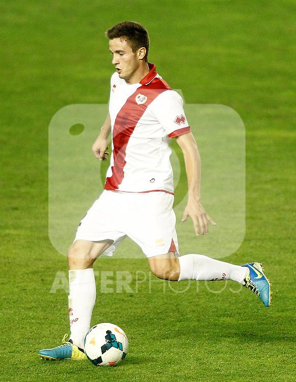 Rayo Vallecano's Saul Niguez during La Liga match.September 21,2013. (ALTERPHOTOS/Acero)