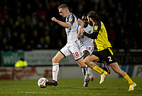 Bolton Wanderers' Ethan Hamilton breaks away from  Burton Albion's John Brayford (right) <br /> <br /> Photographer Andrew Kearns/CameraSport<br /> <br /> The Premier League - Leicester City v Aston Villa - Monday 9th March 2020 - King Power Stadium - Leicester<br /> <br /> World Copyright © 2020 CameraSport. All rights reserved. 43 Linden Ave. Countesthorpe. Leicester. England. LE8 5PG - Tel: +44 (0) 116 277 4147 - admin@camerasport.com - www.camerasport.com