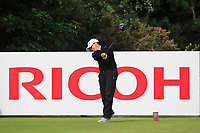 Mo Martin (USA) on the 3rd tee during Round 3 of the Ricoh Women's British Open at Royal Lytham &amp; St. Annes on Saturday 4th August 2018.<br /> Picture:  Thos Caffrey / Golffile<br /> <br /> All photo usage must carry mandatory copyright credit (&copy; Golffile | Thos Caffrey)