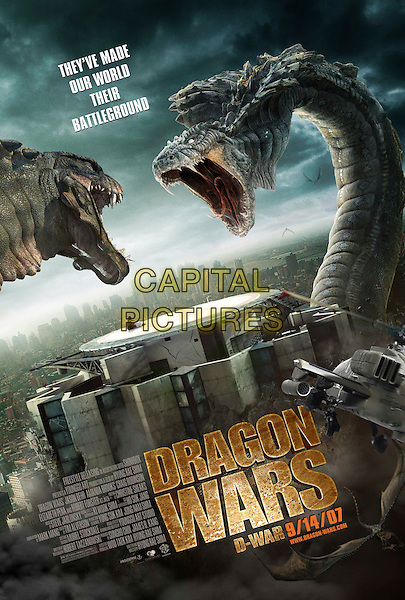 POSTER ART.in D-War (Dragon Wars: D-War) .*Filmstill - Editorial Use Only*.CAP/FB.Supplied by Capital Pictures.