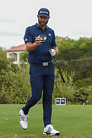 Dustin Johnson (USA) looks over his driver as he heads down 3 during day 3 of the WGC Dell Match Play, at the Austin Country Club, Austin, Texas, USA. 3/29/2019.<br /> Picture: Golffile | Ken Murray<br /> <br /> <br /> All photo usage must carry mandatory copyright credit (© Golffile | Ken Murray)