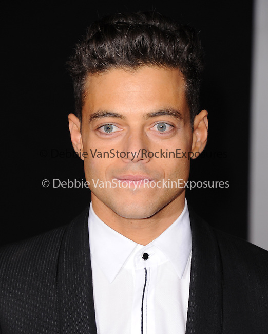 Rami Malek attends The Dreamworks Pictures' L.A. premiere of Need for Speed held at The TCL Chinese Theater in Hollywood, California on March 06,2014                                                                               © 2014 Hollywood Press Agency