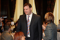 Montreal (Qc) CANADA, April 23,2007 - <br /> <br /> The Honourable John Baird, P.C., M.P.<br /> Member of Parliament for Ottawa West-Nepean<br /> Minister of the Environment gives a speech to Reseau-Environnement members, in Montreal.<br /> <br /> The honourable John Baird was elected as the Member of Parliament for the riding of Ottawa West-Nepean on January 23, 2006. On February 6, 2006, Mr. Baird was appointed to the Privy Council as President of the Treasury Board in Prime Minister Stephen Harper's first cabinet. On January 4, 2007, Mr. Baird was sworn in as Minister of the Environment in Prime Minister Stephen Harper's second cabinet.<br /> <br /> During his time as President of the Treasury Board, Minister Baird was responsible for steering Canada's toughest piece of anti-corruption legislation, the Federal Accountability Act through the House of Commons. The act received Royal Assent on December 12, 2006.<br /> <br /> Prior to being elected as a federal Member of Parliament, Mr. Baird served as the Member of Provincial Parliament for the ridings of Nepean and Nepean-Carleton from 1995-2005.<br /> <br /> photo (c)  Images Distribution