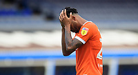 Blackpool's Joe Nuttall at the end of the game<br /> <br /> Photographer Chris Vaughan/CameraSport<br /> <br /> The EFL Sky Bet League One - Coventry City v Blackpool - Saturday 7th September 2019 - St Andrew's - Birmingham<br /> <br /> World Copyright © 2019 CameraSport. All rights reserved. 43 Linden Ave. Countesthorpe. Leicester. England. LE8 5PG - Tel: +44 (0) 116 277 4147 - admin@camerasport.com - www.camerasport.com