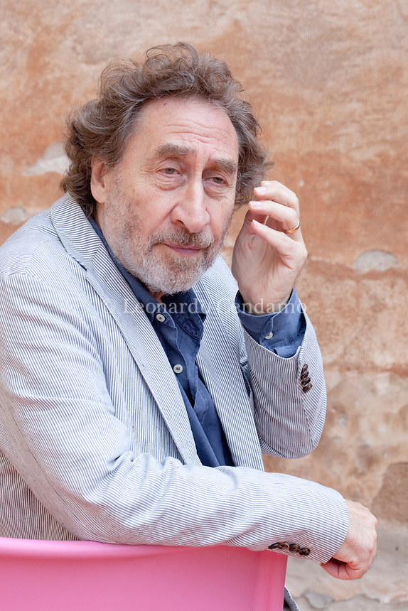 Howard Jacobson, inglish writer and jornalist.  © Leonardo Cendamo