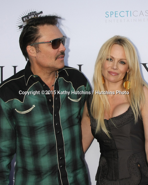 "LOS ANGELES - JUN 24:  David LaChapelle, Pamela Anderson at the ""Unity"" Documentary World Premeire at the Director's Guild of America on June 24, 2015 in Los Angeles, CA"