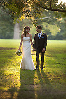 Sarah and Steve's official wedding photos. They were married at Magnolia Manor in Warrenton, North Carolina on Saturday, September 27, 2014. (Justin Cook)