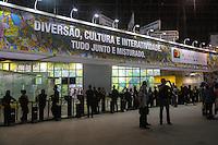SAO PAULO, SP, 22.08.2014 - BIENAL INTERNACIONAL DO LIVRO - 23ª Bienal Internacional do Livro de São Paulo no pavilhão de exposições Anhembi, na zona norte de São Paulo, nesta sexta-feira, 22. A bienal recebe 186 escritores brasileiros e outros 22 internacionais que confirmaram presença. (Foto: Vanessa Carvalho / Brazil Photo Press).