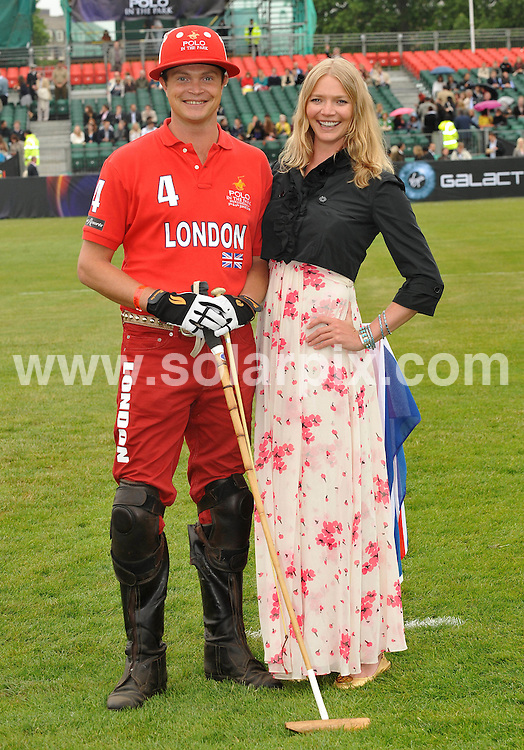 "**ALL ROUND PICTURES FROM SOLARPIX.COM**.**WORLDWIDE SYNDICATION RIGHTS**.Day 1 of The inaugural tournament of ""Polo in the park"" The World Polo Series London V Moscow at The Hurlingham Club  in Fulham, Central London...This pic:Jodie Kidd & her brother Jack Kidd..JOB REF:9170       SSD     DATE:05.06.09.**MUST CREDIT SOLARPIX.COM OR DOUBLE FEE WILL BE CHARGED**.**ONLINE USAGE FEE GBP 50.00 PER PICTURE - NOTIFICATION OF USAGE TO PHOTO @ SOLARPIX.COM**.**CALL SOLARPIX : +34 952 811 768 or LOW RATE FROM UK 0844 617 7637**"
