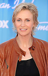 LOS ANGELES, CA - MAY 23: Jane Lynch arrives at 'American Idol' Season 11 Grand Finale Show at Nokia Theatre L.A. Live on May 23, 2012 in Los Angeles, California.