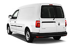 Car pictures of rear three quarter view of 2016 Volkswagen Caddy Maxi Van - 5 Door Car Van Angular Rear