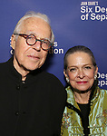 John Guare and Adele Chatfield-Taylor attend the Opening Night Performance of 'Six Degrees Of Separation' at the Barrymore Theatre on April 25, 2017 in New York City.