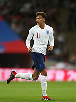 England's Dele Alli<br /> <br /> Photographer Rob Newell/CameraSport<br /> <br /> UEFA Nations League - League A - Group 4 - England v Spain - Saturday September 8th 2018 - Wembley Stadium - London<br /> <br /> World Copyright &copy; 2018 CameraSport. All rights reserved. 43 Linden Ave. Countesthorpe. Leicester. England. LE8 5PG - Tel: +44 (0) 116 277 4147 - admin@camerasport.com - www.camerasport.com