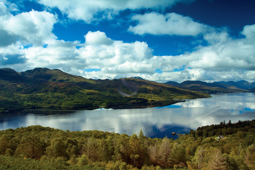 Loch Katrine, Loch Lomond and the Trossachs National Park, Stirlingshire