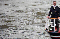 Nigel Farage MEP (English Politician, Leader of UKIP and Member of the European Parliament).<br />