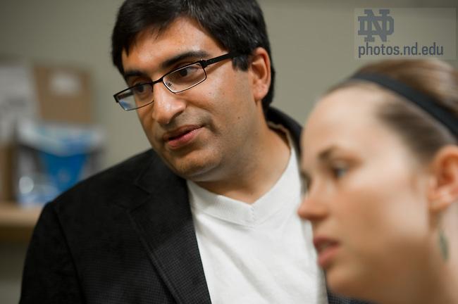 Sept. 14, 2011; Nitesh Chawla, Associate Professor of Computer Science and Engineering..Photo by Matt Cashore/University of Notre Dame