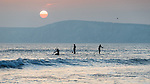 2018-04-11 - Compton Sunset SUP