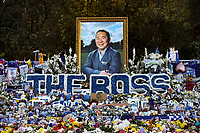 Leicester City' forever in our hearts Vichai Srivaddhanaprabha<br /> <br /> Photographer Rachel Holborn/CameraSport<br /> <br /> The Premier League - Saturday 10th November 2018 - Leicester City v Burnley - King Power Stadium - Leicester<br /> <br /> World Copyright &copy; 2018 CameraSport. All rights reserved. 43 Linden Ave. Countesthorpe. Leicester. England. LE8 5PG - Tel: +44 (0) 116 277 4147 - admin@camerasport.com - www.camerasport.com