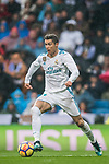 Cristiano Ronaldo of Real Madrid in action during the La Liga 2017-18 match between Real Madrid and Villarreal CF at Santiago Bernabeu Stadium on January 13 2018 in Madrid, Spain. Photo by Diego Gonzalez / Power Sport Images