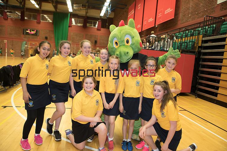 Vitality super League<br /> Celtic Dragons v Hertfordshire Mavericks<br /> 01.05.17<br /> &copy;Steve Pope - Sportingwales