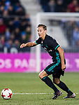 Marcos Llorente of Real Madrid in action during the Copa del Rey 2017-18 match between CD Leganes and Real Madrid at Estadio Municipal Butarque on 18 January 2018 in Leganes, Spain. Photo by Diego Gonzalez / Power Sport Images
