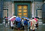 Portal do Paraiso em Florença, Itália. 1996. Foto de Juca Martins.