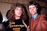 LED ZEPPELIN Robert Plant with Kim Fowley