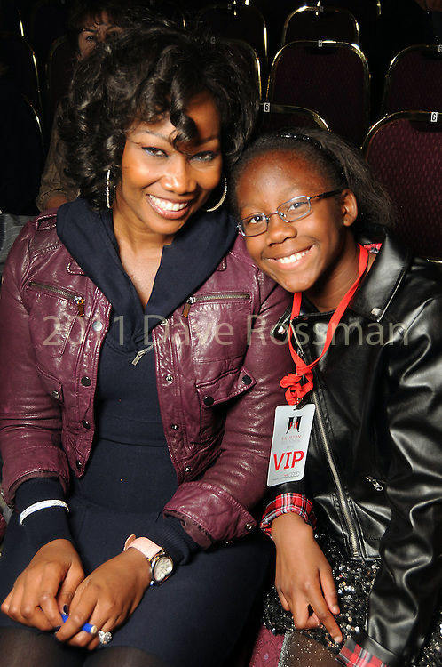 Yolanda Adams and her daughter Taylor Crawford,9, at the third day of the Fashion Houston 2010 presented by Audi at the Wortham Theater Wednesday Oct. 13, 2010. (Dave Rossman/For the Chronicle)