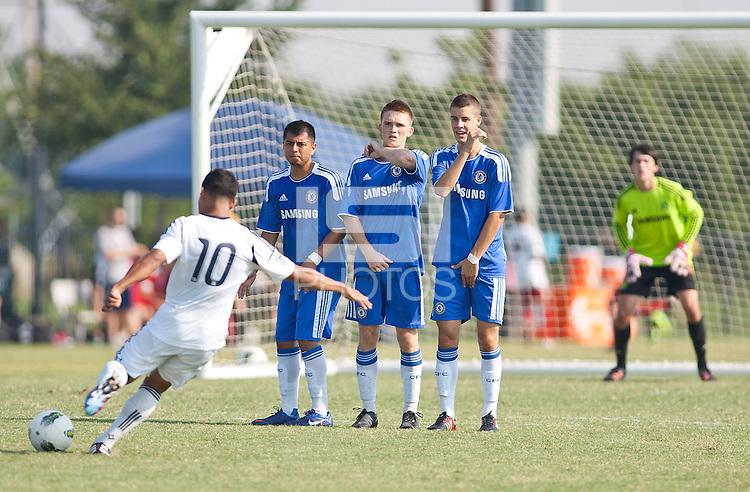 Frisco - Texas, Thursday, June 28, 2012: U17/18 USDA play off games.