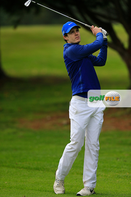 Christopher Carvill (Belvoir Park GC) during the first round of the Irish PGA Championship, Dundalk Golf Club, Dundalk Co Louth. 01/10/2015<br /> Picture Golffile | Fran Caffrey | PGA<br /> <br /> <br /> All photo usage must carry mandatory copyright credit (&copy; Golffile | Fran Caffrey | PGA)
