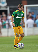 Preston North End's Ben Pearson<br /> <br /> Photographer Mick Walker/CameraSport<br /> <br /> Pre-Season Friendly -Bamber Bridge v Preston North End  - Saturday 7th July  2018 - Irongate Stadium,Bamber Bridge<br /> <br /> World Copyright &copy; 2018 CameraSport. All rights reserved. 43 Linden Ave. Countesthorpe. Leicester. England. LE8 5PG - Tel: +44 (0) 116 277 4147 - admin@camerasport.com - www.camerasport.com