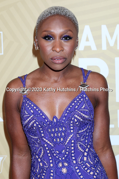 LOS ANGELES - FEB 23:  Cynthia Erivo at the American Black Film Festival Honors Awards at the Beverly Hilton Hotel on February 23, 2020 in Beverly Hills, CA