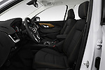 Front seat view of a 2018 GMC Terrain SLE FWD 5 Door SUV front seat car photos