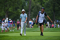 Tommy Fleetwood (ENG) approaches the tee on 4 during Rd3 of the 2019 BMW Championship, Medinah Golf Club, Chicago, Illinois, USA. 8/17/2019.<br /> Picture Ken Murray / Golffile.ie<br /> <br /> All photo usage must carry mandatory copyright credit (© Golffile   Ken Murray)
