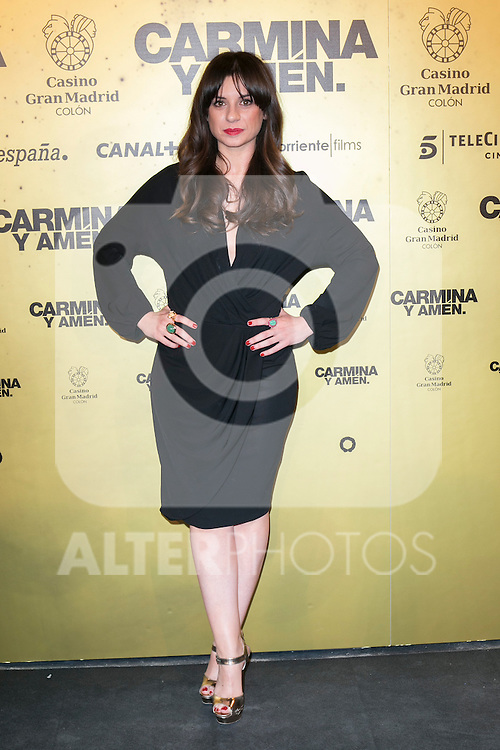 "Spanish actress Miren Ibarguren attend the Premiere of the movie ""Carmina y Amen"" at the Callao Cinema in Madrid, Spain. April 28, 2014. (ALTERPHOTOS/Carlos Dafonte)"