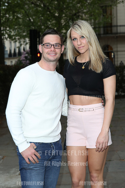 Chloe Madeley, boyfriend Danny Young at the Superdrug 50th birthday party held at One Marylebone, London. 23/04/2014 Picture by: Henry Harris / Featureflash