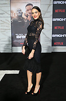 WESTWOOD, CA - DECEMBER 13: Daniela Botera, at Premiere Of Netflix's 'Bright' at The Regency Village Theatre, In Hollywood, California on December 13, 2017. Credit: Faye Sadou/MediaPunch /NortePhoto.com NORTEPHOTOMEXICO